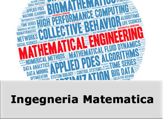 Corso di laurea magistrale in Ingegneria Matematica